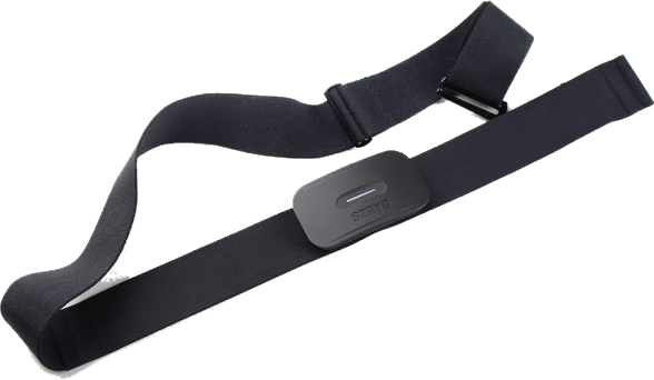 Powermeter-Brustgurt für Läufer und Radfahrer